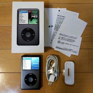アイポッド(iPod)の【レア】iPod classic 120GB Black(ポータブルプレーヤー)