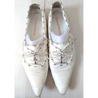 アルフレッドバニスター(alfredoBANNISTER)のalfredo BANNISTERポインテッドトゥトラッドシューズ(ローファー/革靴)