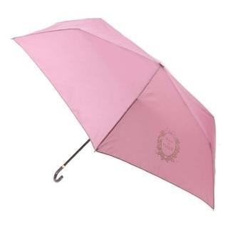 Maison de FLEUR - Maison de FLEUR《晴雨兼用》ロゴプリント折りたたみ傘