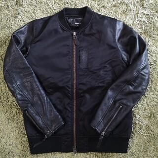 Ron Herman - Sleeve Leather MA-1 Jacket