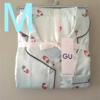 GU - 新品✨GU ジーユー パジャマ ルームウェア ストロベリー イチゴ パステル