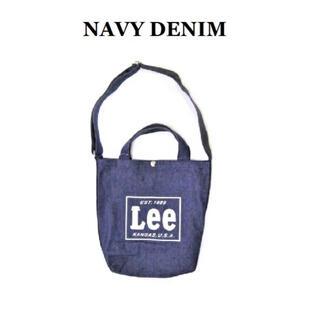 リー(Lee)のLee 2WAY トートバッグ ショルダーバッグ キャンバス メンズレディース(ショルダーバッグ)