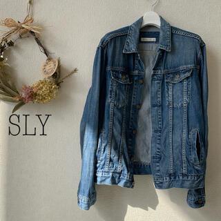 SLY - SLY(スライ)デニムジャケット Gジャン