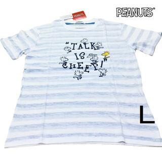 ピーナッツ(PEANUTS)の新品 L ウッドストック Tシャツ 【PEANUTS】(S1192-176SP)(Tシャツ/カットソー(半袖/袖なし))