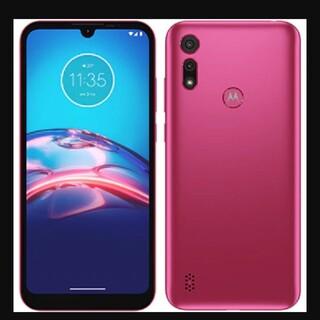 モトローラ(Motorola)のmoto e6s 2GB 32GB エレキピンク(スマートフォン本体)