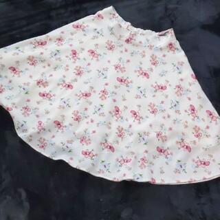 ページボーイ(PAGEBOY)のページボーイ 花柄フレアスカート(ひざ丈スカート)