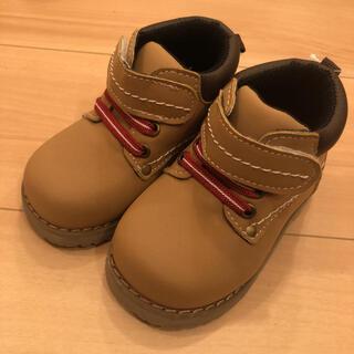 値下げ 新品 ブーツ モカブラウン 13センチ(ブーツ)
