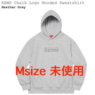 シュプリーム(Supreme)のsupreme kaws chalk logo hooded Msize(パーカー)