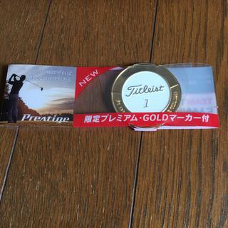 タイトリスト(Titleist)のTitleistプレステージ限定Goldマーカー2個(その他)