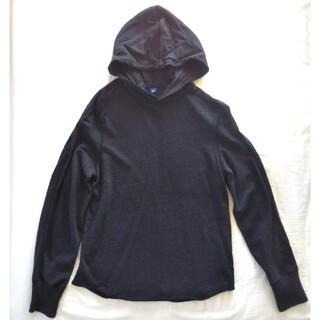 GAP - 【GAP】フード付 厚手 長袖Tシャツ プルオーバー