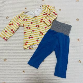 アカチャンホンポ(アカチャンホンポ)のパジャマ 80 さくらんぼ柄(パジャマ)