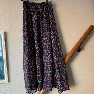 Kastane - kastane 小花柄 シフォンスカート
