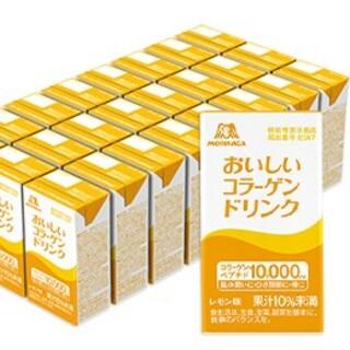 モリナガセイカ(森永製菓)のおいしいコラーゲンドリンク24本セット レモン味(コラーゲン)