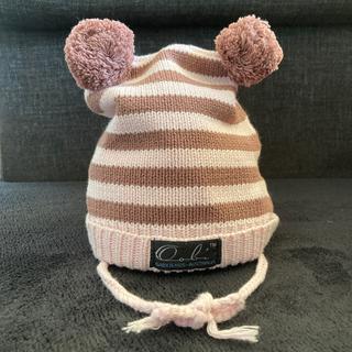 ウーヴィーベビー(Oobi BABY)のOobi  ベビー ニット帽 耳付き(帽子)