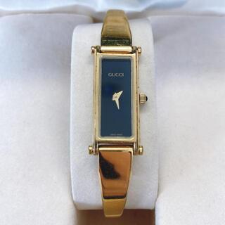 グッチ(Gucci)の★ 箱付き GUCCI 腕時計 レディース ゴールド QZ 1500(腕時計)
