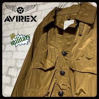 アヴィレックス(AVIREX)の【ミリタリー】AVIREX アヴィレックス/ミリタリーコート レインコート(ミリタリージャケット)
