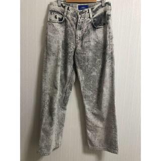 コムデギャルソン(COMME des GARCONS)のpaccbet printed jeans (デニム/ジーンズ)