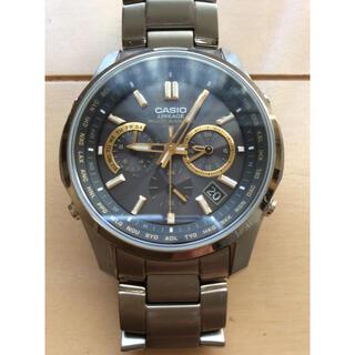 カシオ(CASIO)のカシオ リニアージ 電波ソーラー腕時計 LIW-M610TDS 美品 特典付き!(腕時計(アナログ))