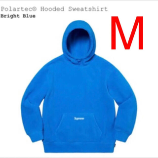 シュプリーム(Supreme)のsupreme Polartec Hooded Sweatshirt M(パーカー)