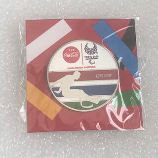 コカコーラ(コカ・コーラ)のコカコーラ 東京五輪 ピンバッジ 走り幅跳び (バッジ/ピンバッジ)