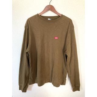 チャムス(CHUMS)のCHUMS カーキ ロンT(Tシャツ/カットソー(七分/長袖))
