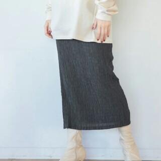 apart by lowrys - 新品◆シボシボタイトスカート