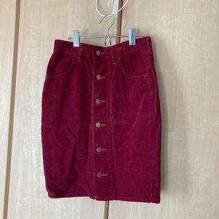 リー(Lee)のコーデュロイスカート(ひざ丈スカート)