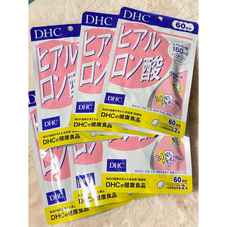 ディーエイチシー(DHC)のDHC ヒアルロン酸 60日分 6袋 未使用(その他)
