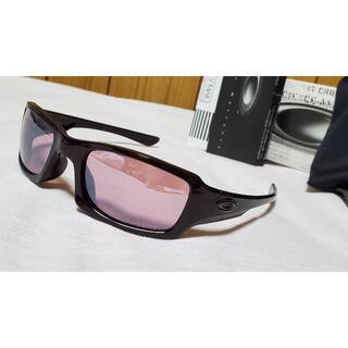オークリー(Oakley)の正規美 オークリー スポーティーサングラス グラマラスラメフレーム ピンク 軽量(サングラス/メガネ)