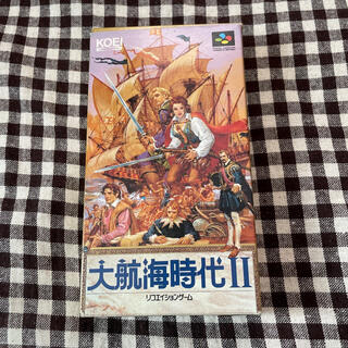 スーパーファミコン(スーパーファミコン)のスーパーファミコン 名作 大航海時代2 シミュレーションゲーム 光栄(家庭用ゲームソフト)