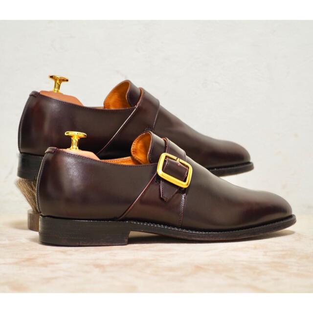 Church's(チャーチ)のChurch's 70G 旧チャーチ Westbury モンクストラップ メンズの靴/シューズ(ドレス/ビジネス)の商品写真