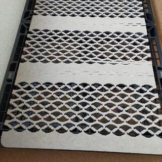 すのこ型除湿マット「ダブルインパクト」シングル日本製TEIJIN(すのこベッド)