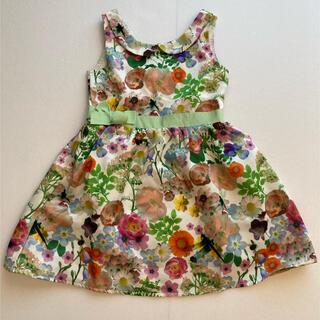 H&M - H&M 花柄ワンピース ドレス 2-3Y エイチアンドエム