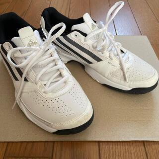 アディダス(adidas)のテニスシューズ アディダス 26.5 ホワイト(シューズ)