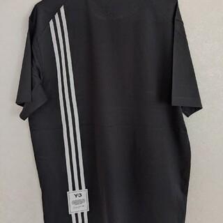 Y-3 - 【新品正規品】Y-3 スリーストライプコットンTシャツ