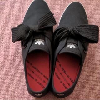 アディダス(adidas)のadidas Originals RELACE LOW W 25cm ブラック(スニーカー)