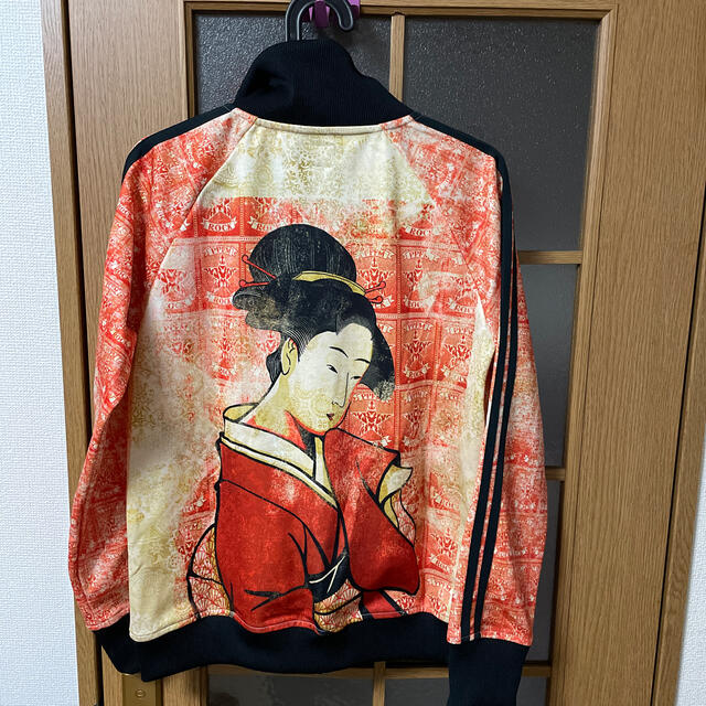PPFM(ピーピーエフエム)のPPFM 未使用品 ブルゾン 浮世絵 メンズのジャケット/アウター(ブルゾン)の商品写真