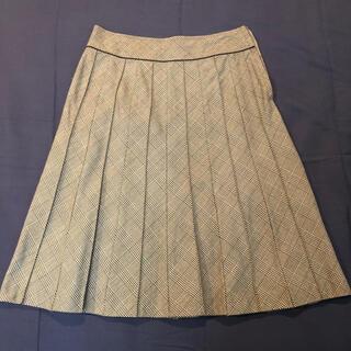 コムサイズム(COMME CA ISM)のCOMMECAISM Lサイズ スカート(ひざ丈スカート)
