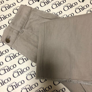 who's who Chico - レースアップカラーデニム who's who chico