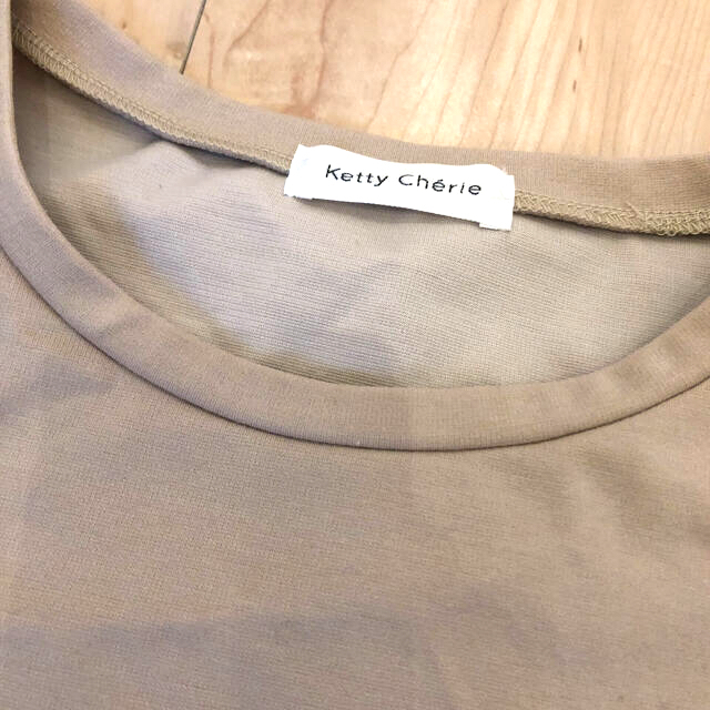 ketty(ケティ)の袖フリル トップス レディースのトップス(カットソー(長袖/七分))の商品写真