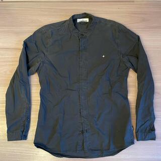 ストーンアイランド(STONE ISLAND)の【STONE ISLAND】シャツ ブラック Lサイズ(シャツ)