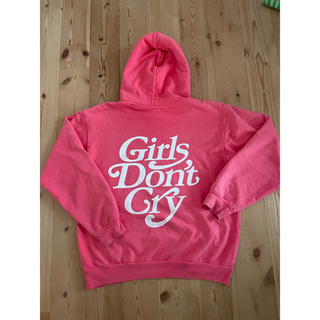 GDC - girls don't cry ピンク パーカー Mサイズ