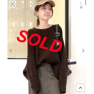 L'Appartement DEUXIEME CLASSE - 売り切れ❗️アパルトモンドゥーズィエムクラス★人気完売★クルーニットプルオーバー