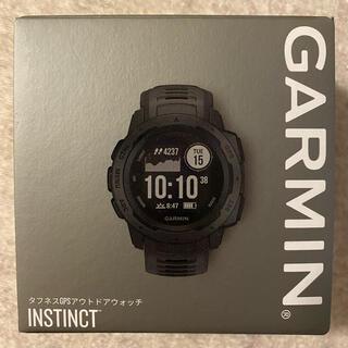 ガーミン(GARMIN)の箱のみ Garmin INSTINCT (腕時計(デジタル))
