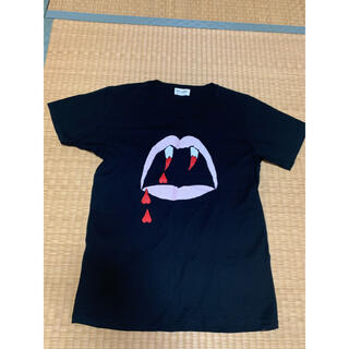 サンローラン(Saint Laurent)のサンローラン レディースTシャツ美品XS(Tシャツ(半袖/袖なし))