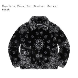 シュプリーム(Supreme)のSupreme Bandana Faux Fur Bomber Jacket(ブルゾン)