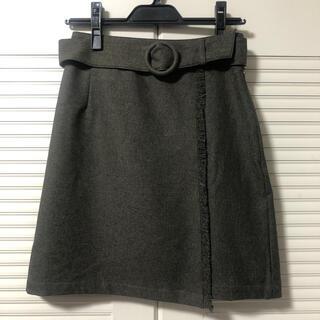 フィント(F i.n.t)のフィント 巻きスカート(ひざ丈スカート)