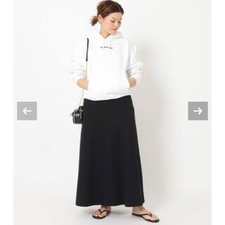 L'Appartement DEUXIEME CLASSE - Deuxieme Classe*Jersey フレアスカート ブラック