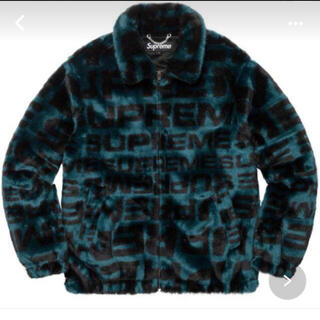 シュプリーム(Supreme)のsupreme faux fur repeater bomber teal(ブルゾン)