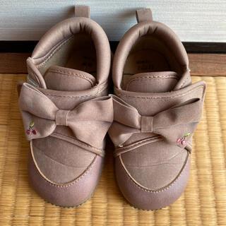 しまむら - さくらんぼ ブーツ 靴 15cm